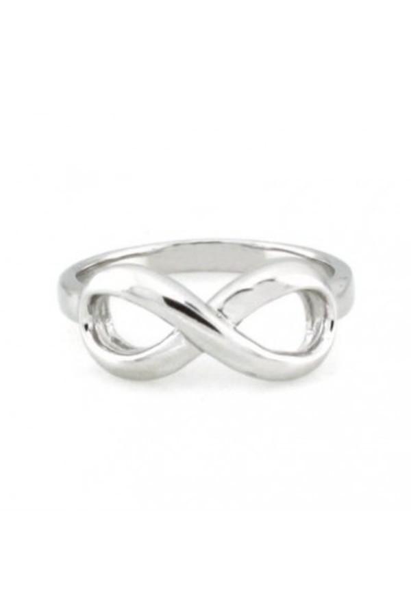 jewels accessories jewelry rings ring infinity infinity ring silver silver ring style fashion