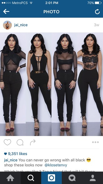 shirt black mesh top cute chic fashion urban new york city party funk