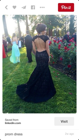 dress prom dress open back dresses black dress