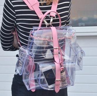 bag backpack transparent