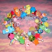 jewels,carebears,carebear,care bears,care bear,aesthetic,kawaii,bracelets,tumblr