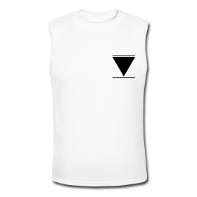 V (small triangle) Men's Muscle shirt | JonasWorld Merch Store