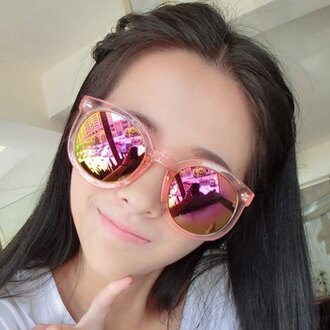 sunglasses gamiss cute dope style pink summer