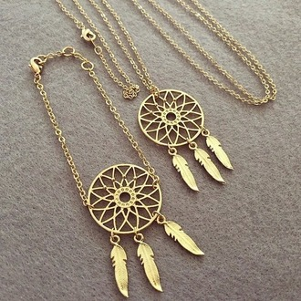 jewels necklace dreamcatcher necklace