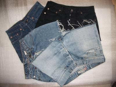 Vintage levis womens grade b high waisted waist denim shorts hotpants jean s xl