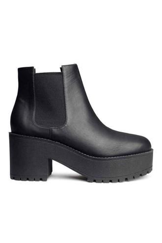 shoes black chelsea boots chelsea boots black cute boho