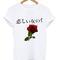 Japan flower tshirt