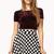 Polka Dot Skater Skirt | FOREVER21 - 2000075144