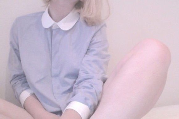 blouse blue blouse button up grunge sweater pastel pastel purple cute kawaii kawaii princess lawlz