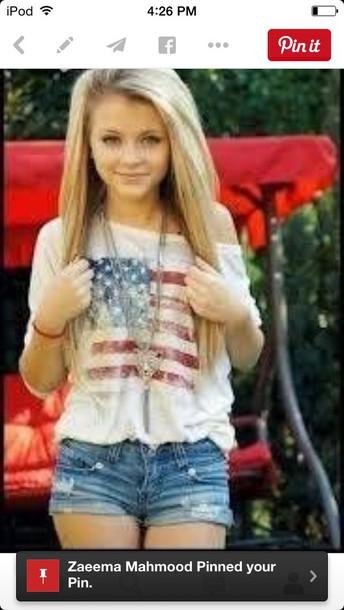 shirt t-shirt american flag