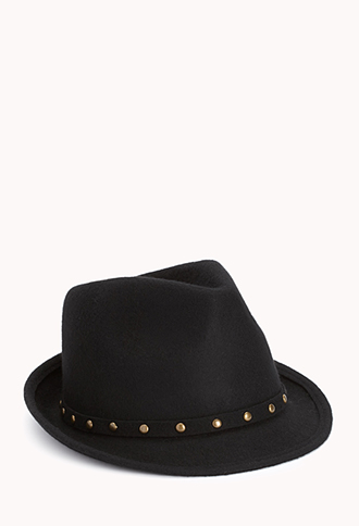 Studded Out Fedora | FOREVER21 - 2000111727