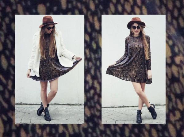 drifting nomad coat shoes dress sunglasses