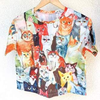 shirt cats tropical shirt tropical valentines etsy