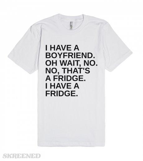 Boyfriend or fridge