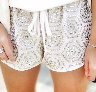 shorts whiteshorts studs