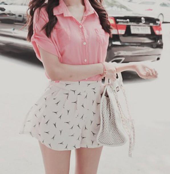 skirt high waisted skirt white skirt