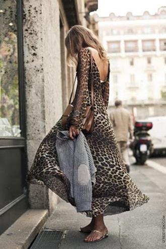 print dress leopard print leopard print