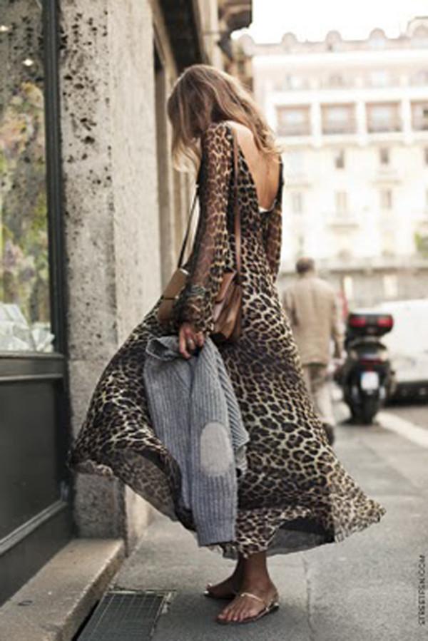 print dress leopard print maxi dress bag jumper leopard print leopard print dress animaprint animal print summer