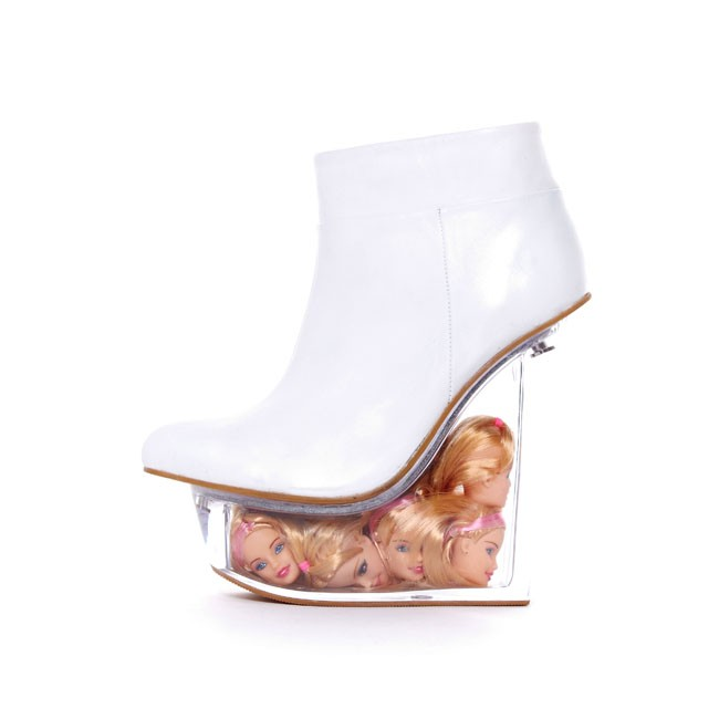 Jeffrey campbell 'ice doll', white