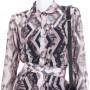 Tamer Diamond Shirt Dress - Dresses - Clothing - Ready To Wear