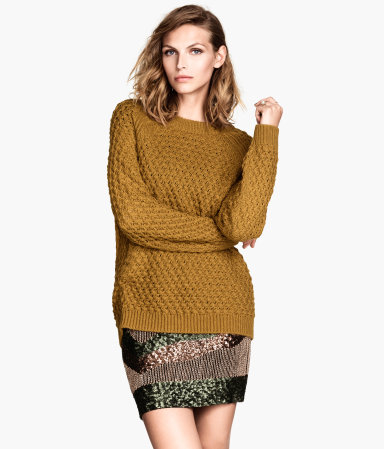 H&M Textured-knit Sweater $19.95