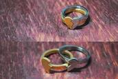 ring,silver,gold,jewels,couple,couple rings,tumblr,love,tumblr rings,ring set