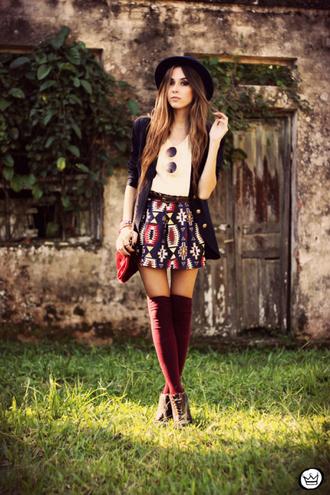 fashion coolture t-shirt skirt jacket bag jewels sunglasses hat shoes