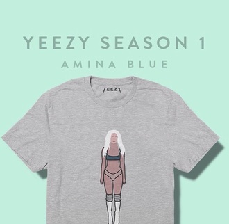 shirt yeezy kanye west yeezus on point clothing clothes top dope