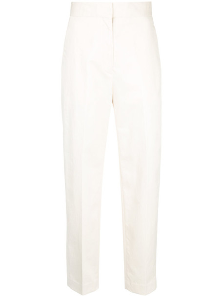 H Beauty & Youth high women nude cotton pants