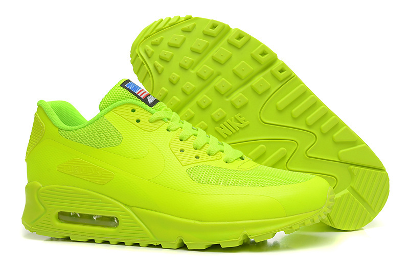 Free shipping nike air max 90 hyperfuse men's running shoes usa flag outdoor sport sneakers fashion shoes eur:40 46