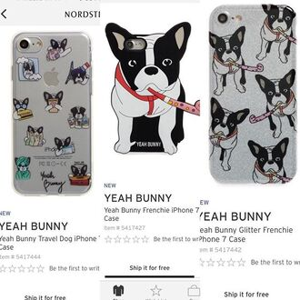 phone cover phone yeahbunny dog glitter case