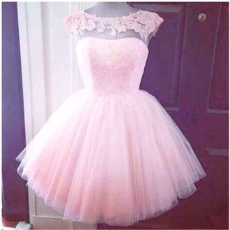 dress prom prom dress tule mesh pink light bodice sequined bodice