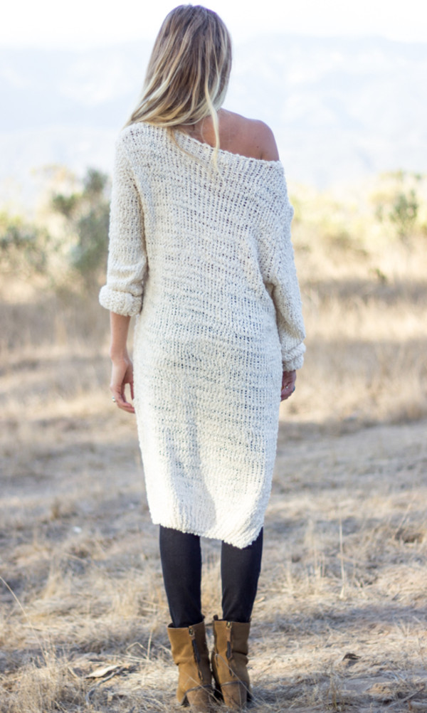 sweater long sleeves dress top shirt