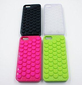 Amazon.com: Choize Decompression Bubble Wrap Shell Puchi Puchi for Iphone 5/5s (Pink): Cell Phones & Accessories