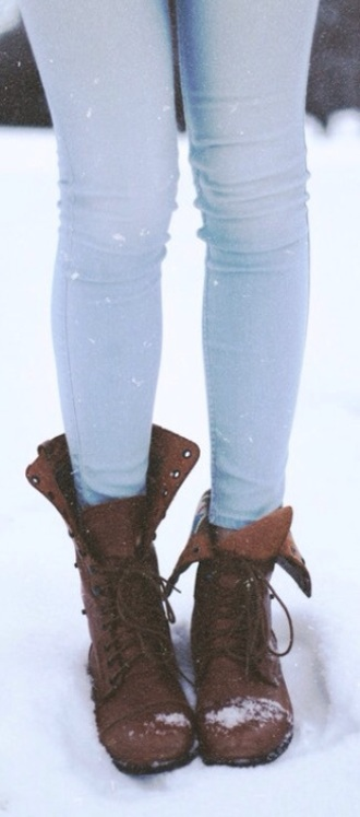 shoes booties boots flat brown inger winter outfits call fall outfits fashion