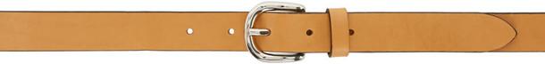 tan belt leather