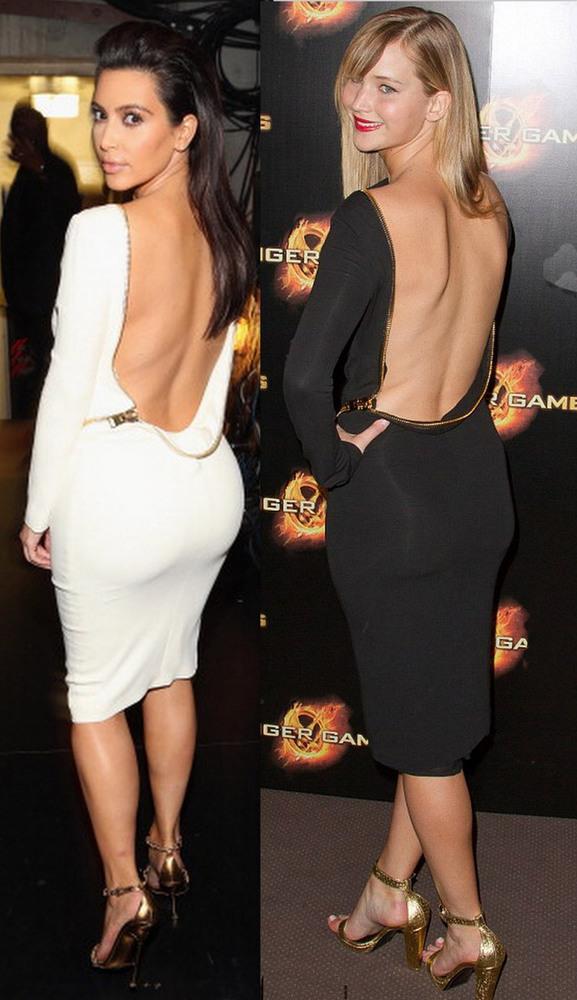 Hot zipper show body cute dress