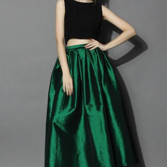 green maxi skirt high waist maxi skirt high waist skirt