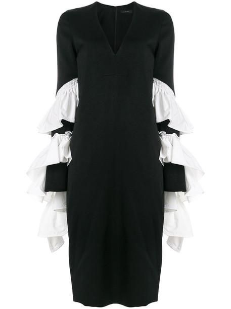 ellery dress women black silk
