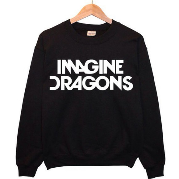 crewneck top imagine dragons