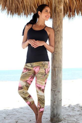 top active top activewear black equilibrium equilibrium activewear strappy top bikiniluxe