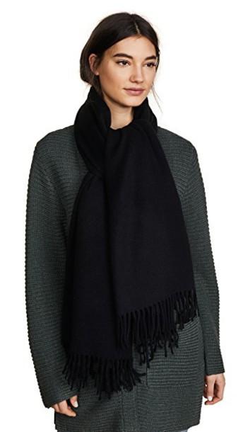 Acne Studios scarf black