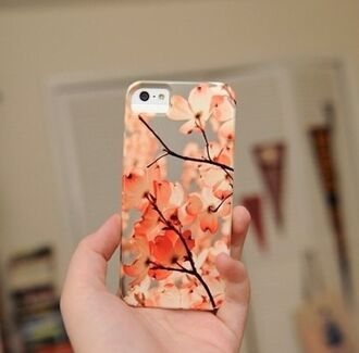 iphone iphone cover iphone case cherry blossom technology