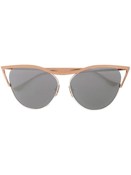 Dita Eyewear women sunglasses grey metallic