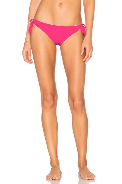 Solid & Striped bikini pink swimwear