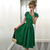 Green Homecoming Dresses, A-line Scoop Neck Short Prom Dresses, Knee-length Party Dresses, Short Sleeve Lace Backless Graduation Dresses, #020103716 on Storenvy
