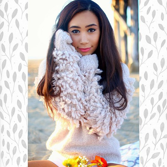 soft fluffy warm sweater
