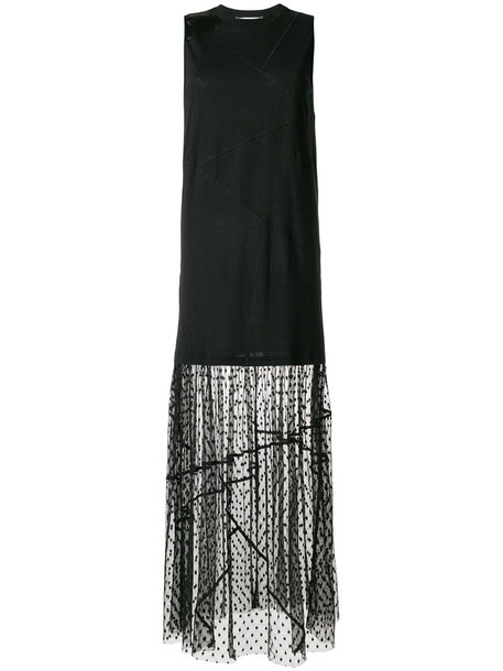 McQ Alexander McQueen dress women spandex cotton black