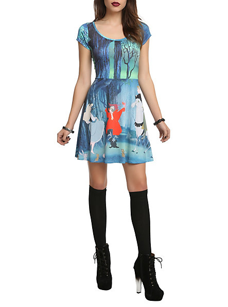 Disney Sleeping Beauty Forest Dress | Hot Topic