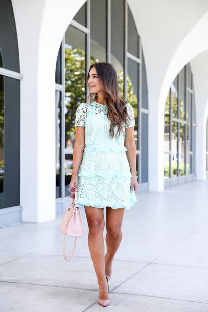 dress, mint, tumblr, light blue, mint